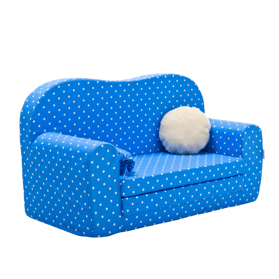 gepetto maxi kinder schlafsofa blau zum ausklappen mit extra matratze ebay. Black Bedroom Furniture Sets. Home Design Ideas