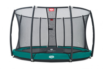 BERG Elite+ InGround Green 330 + Sicherheitsnetz T-series 330