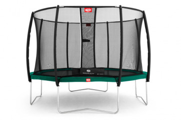 Berg Trampolin Favorit 430 Tattoo + Sicherheitsnetz Deluxe 430