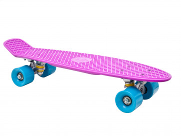 Fish Skateboard Purple Torpedo