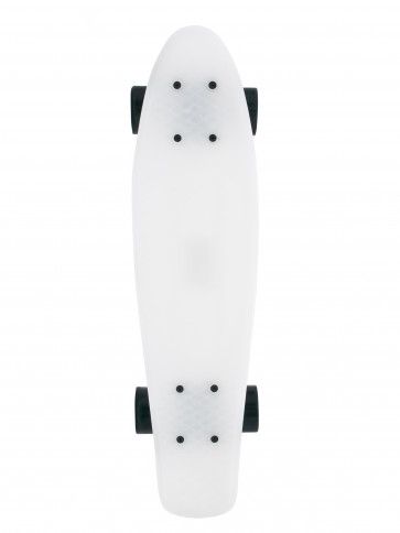 Fish Skateboard White Ghost