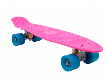 Fish Skateboard Pink Train