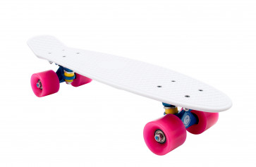 Fish Skateboard Pink Cream