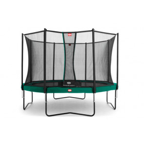 Berg Trampolin Champion 430 Tattoo + Sicherheitsnetz Comfort 430
