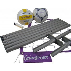 "Sunsport Volleyball und ""Fußtennis"" Set"